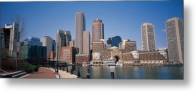 Buildings In A City, Boston, Suffolk Metal Print by Panoramic Images