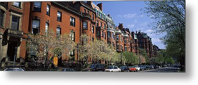 Buildings In A Street, Commonwealth Metal Print by Panoramic Images