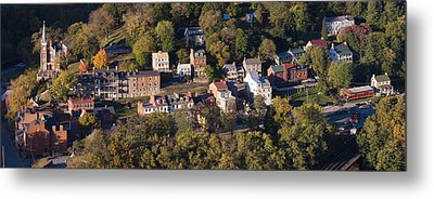 Buildings In A Town, Harpers Ferry Metal Print