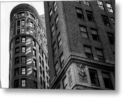 Buildings In New York Metal Print