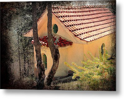 Built In A Forest Metal Print by Milena Ilieva