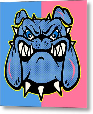 Bulldog 5 Metal Print by Mark Ashkenazi