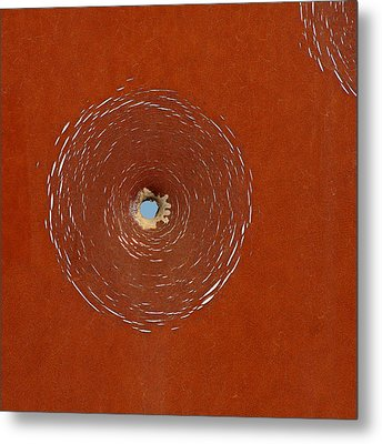 Bullet Hole Patterns Metal Print by Art Block Collections