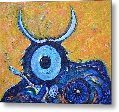 Bull's Eye Metal Print by Ion vincent DAnu