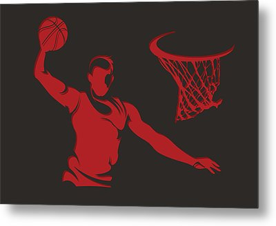 Bulls Shadow Player2 Metal Print by Joe Hamilton