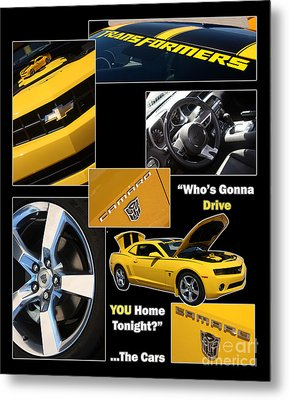 Bumble Bee-drive - Poster Metal Print by Gary Gingrich Galleries