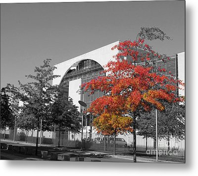 Bundeskanzleramt Chancellor's Office Metal Print