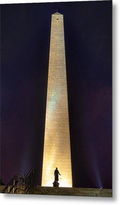 Bunker Hill Monument Metal Print by Joann Vitali
