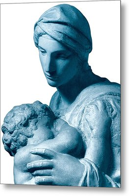 Buonarroti Michelangelo, Medici Metal Print by Everett