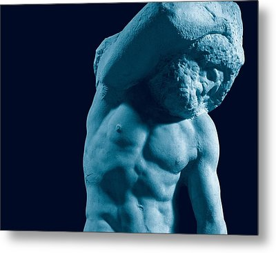 Buonarroti Michelangelo, Prisoner Metal Print by Everett