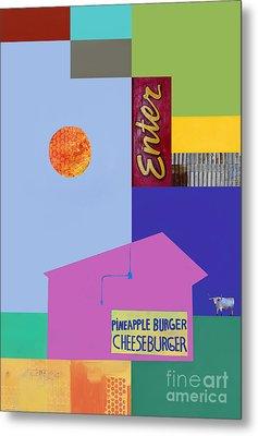 Burger Joint  #4 Metal Print by Elena Nosyreva