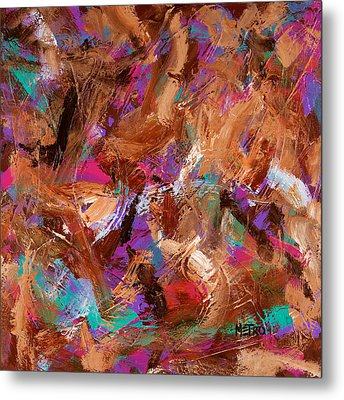 Buried Treasure Metal Print by Metro Meteor