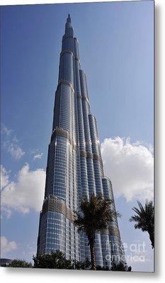 Burj Khalifa 1 Metal Print by Graham Taylor