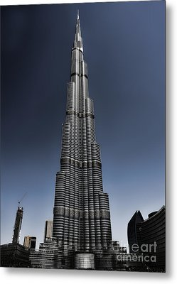 Burj Khalifa 3 Metal Print by Graham Taylor