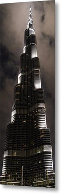 Burj Khalifa Metal Print by Corinne Rhode