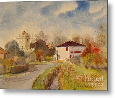 Burmarsh  Kent Uk Metal Print
