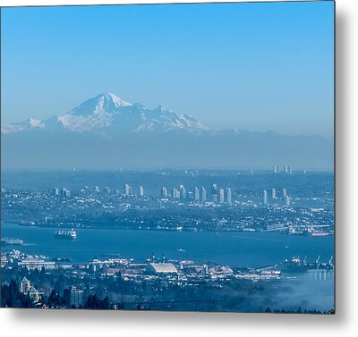 Burnaby And Baker Metal Print by R J Ruppenthal