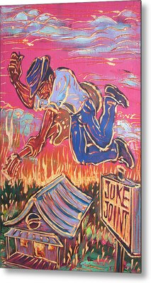 Burnin' It Up Metal Print by Robert Ponzio