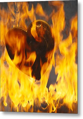 Burning Love C1978 Metal Print by Paul Ashby