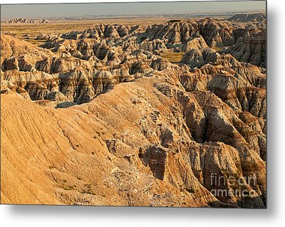 Burns Basin Overlook Badlands National Park Metal Print