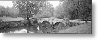 Burnside Bridge Antietam National Metal Print by Panoramic Images