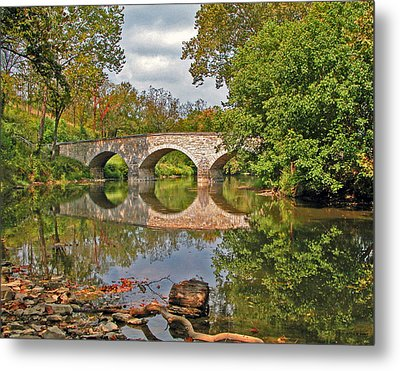 Burnside's Bridge 001 Metal Print