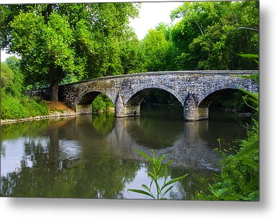 Burnside's Bridge Metal Print by Bill Cannon