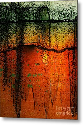 Burnt Caramel Metal Print