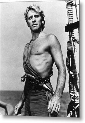 Burt Lancaster In The Crimson Pirate Metal Print by Silver Screen