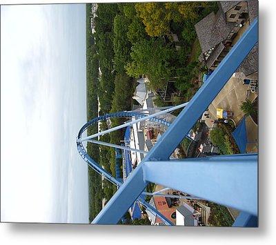 Busch Gardens - 121214 Metal Print by DC Photographer