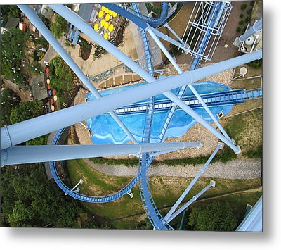 Busch Gardens - 121215 Metal Print by DC Photographer