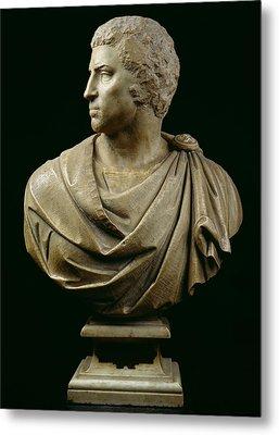 Bust Of Brutus Metal Print
