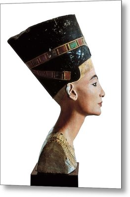 Bust Of Nefertiti. S.xiv Bc. 18th Metal Print