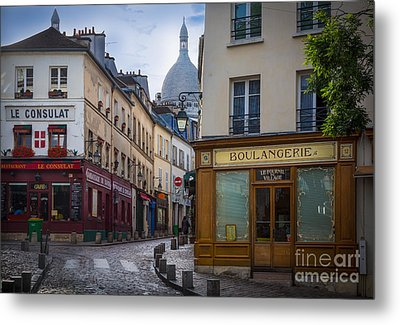 Butte De Montmartre Metal Print by Inge Johnsson