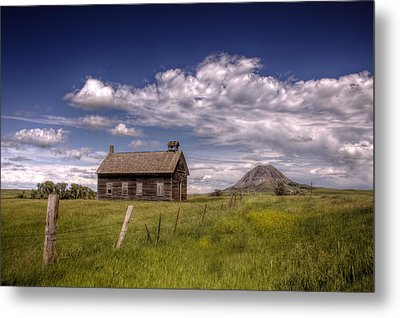Butte View Metal Print by Michele Richter