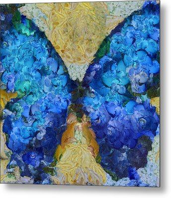 Butterfly Art - D11bb Metal Print by Variance Collections