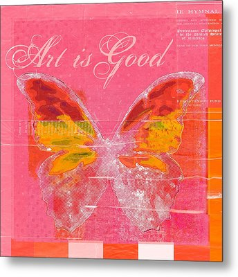 Butterfly Art - P11aig13a_ Art Is Good Metal Print by Variance Collections