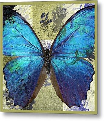 Butterfly Art - S01bfr02 Metal Print