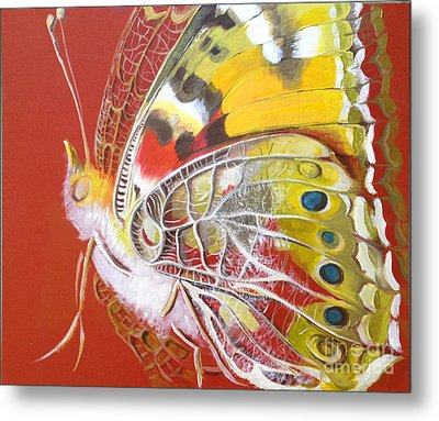 Butterfly Basic Metal Print by Art Ina Pavelescu