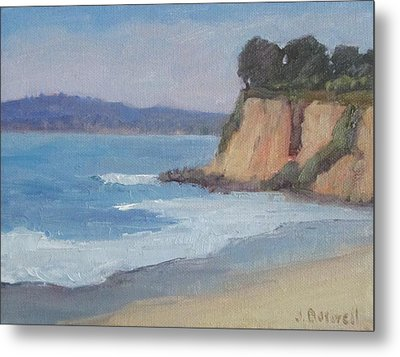 Metal Print featuring the painting Butterfly Beach Afternoon Series 4 by Jennifer Boswell