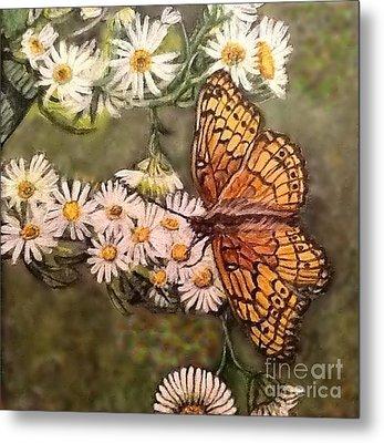 Butterfly Delight Metal Print