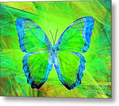 Butterfly Dsc2969m88 Metal Print by Wingsdomain Art and Photography