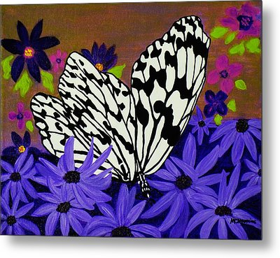 Butterfly Heaven Metal Print by Celeste Manning