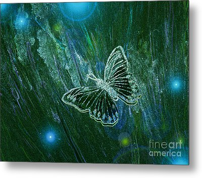 Butterfly Magic By Jrr Metal Print