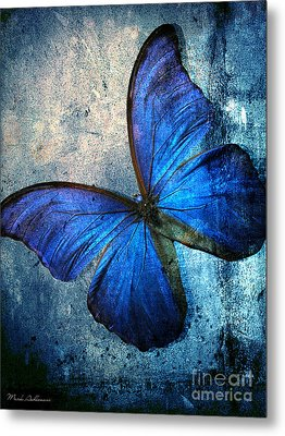 Butterfly Metal Print by Mark Ashkenazi