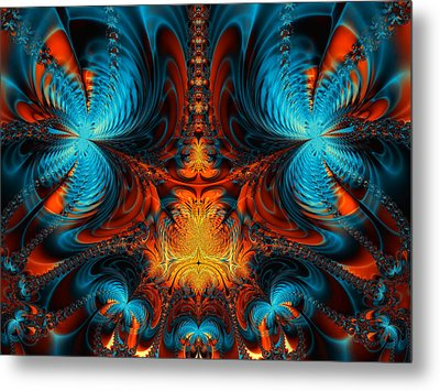 Butterfly Plasma  Metal Print by Ian Mitchell