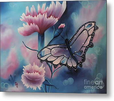 Butterfly Series 6 Metal Print by Dianna Lewis