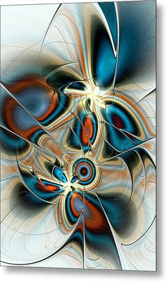 Butterfly Vision Metal Print