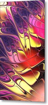 Butterfly Wing Metal Print by Anastasiya Malakhova