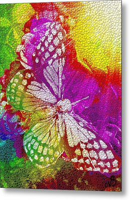 Butterfly World 2 Metal Print by Nico Bielow